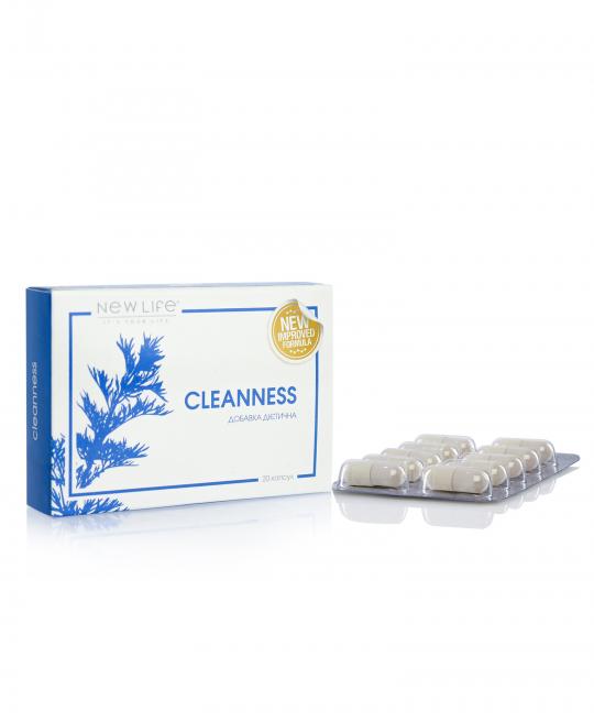 CLEANNESS/ЧИСТОТА 20 КАПСУЛ В БЛИСТЕРАХ